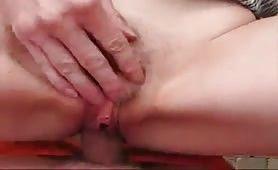 Outdoor Sex mit heißer deutscher Milf